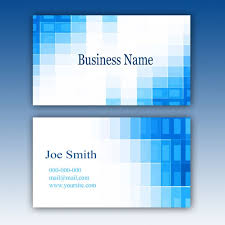 business card background business card template with background blue psd file free download