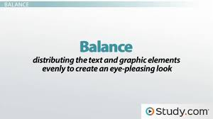 Visual Literacy Definitions Visual Design Of Your Message Consistency Balance Restraint Detail