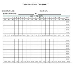Sample Biweekly Timesheet Inspiration Excel Timecard Template Sample Employee Monthly Timesheet Spitznas