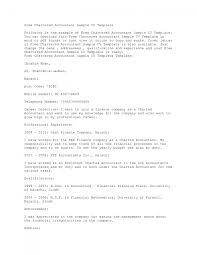 63 Senior Accountant Resume Format Application Letter Audit