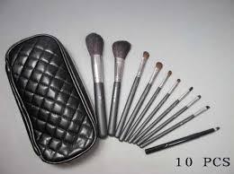 mac makeup brushes kit uk professional makeup brush collection 10 pcs set