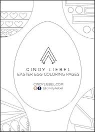 Gems, stones, beads, pearls, earrings, diamonds, rings, necklaces are all yours if you color them diligently and nicely. Art Printable Easter Egg Coloring Pages Cindy Liebel