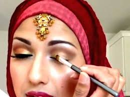 traditional indian stani bridal makeup tutorial