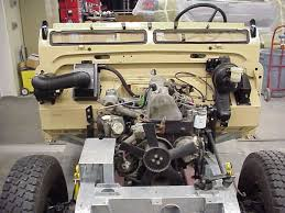 converting a series land rover to diesel mercedes 240d engine in a series land rover