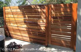 horizontal wood slat fence. Interesting Horizontal Horizontal Urban Style Fence  Altadena CA Custom Modern Wood   Inside Slat L