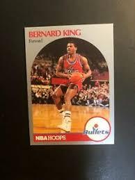 Players found in the binder. 1990 Bernard King Nba Hoops Basketball Card 300 Made In Usa Ebay
