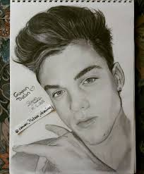ethan and grayson dolan drawing grayson dolan drawing dolan twins graphite drawing follow my ig