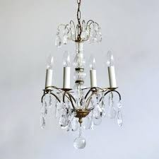 vintage french chandelier catania country wood 6 light 2