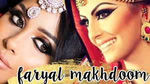 faryal makhdoom wedding makeup arabian eyeliner stani indian desi bridal irenesarah