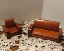 modern dollhouse furniture sets. dollhouse couch and chair wooden miniature modern wood furniture set sets