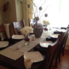 dining table decor. Pictures Of Christmas Dining Table Decor Dinner Decoration A