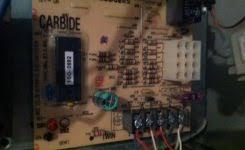 goodman furnace control board. goodman wiring diagram \u0026 thermostat 11 steps inside dei remote hvac fan heat pump furnace control board t