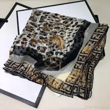 Designer Silk Scarves Scarf Designer Luxury Scarf Designer Silk Scarf F E N D I 110 180cm True Silk 19 Fashion Luxury Jewelry Head Scarf Styles Crochet Scarves From