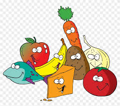 fruits and vegetables clip art. Contemporary Art Cartoon Healthy Lunch Food Clipart  Fruit U0026 Vegetables Inside Fruits And Clip Art