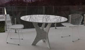 Italian Glass Dining Table Brera Round Glass Dining Table Shop Online Italy Dream Design