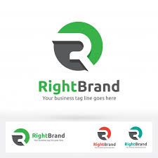 Business Letterhead Mesmerizing Letter R Logo Letter R In The Circle Shape With Flat Shadow Vector