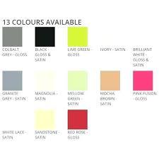 Magnolia Paint Colour Chart Tile Paint Colours Bathroom Paint Colours Bathroom Tile