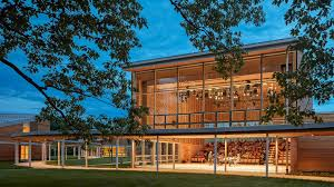 Tanglewood Designs William Rawn Designs Cedar Clad Pavilions For Tanglewood Campus