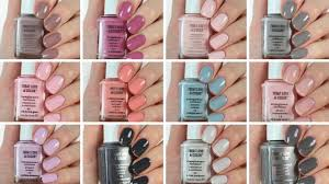 Essie Color Chart 2018 Essie Treat Love And Color Swatch And Review