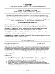 Resume Summary Examples Entry Level Engineer 19 Recent Professional