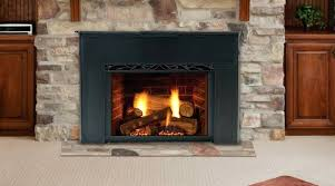 gas wood burning fireplace insert convert wood burning fireplace to vented gas logs