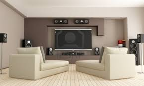 Decorating your interior design home with Perfect Great home theater living  room ideas and fantastic design