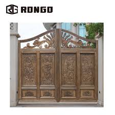 Gate Design Online Rongo Wrought Iron Grill Gate Design View Grill Gate Design Rongo Product Details From Foshan Rongo Door Technology Co Ltd On Alibaba Com