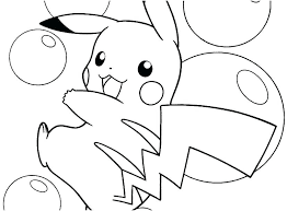 coloring pages pikachu coloring pages free with little 1 and f ninja