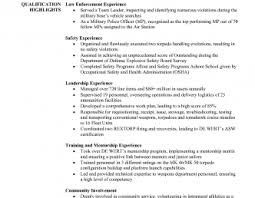Police Officer Resume - Resume Cv Cover Letter