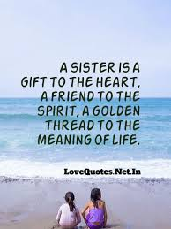 Sister Love Quotes A Sister Is A Gift To The Heart A Frie Flickr Mesmerizing Sisters Love Quotes