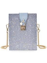 Glitter Box <b>Shaped</b> Crossbody Bag - buy at the price of $22.45 in ...