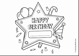 birthday coloring pages new announcing happy birthday coloring pages for dad card beautiful 7
