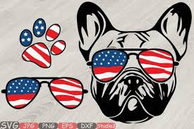 Download icons in all formats or edit them for your designs. Free Svg Bulldog Usa Flag Glasses Paw Silhouette Svg French Dog 4th Of July 827 Download Free Svg Files Creative Fabrica