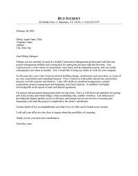 Construction Worker Cover Letter Examples Sample Construction Cover Letter Under Fontanacountryinn Com