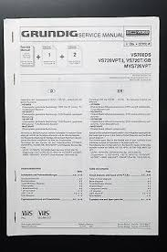 grundig vs700ds vs720 mvs720 original service manual guide wiring grundig vs700ds vs720 mvs720 original service manual guide wiring diagram