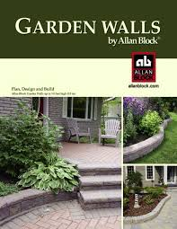 Small Picture Stone Works Canada Alan Block garden walls install catalog