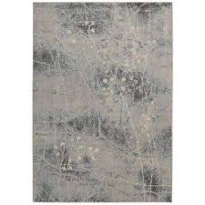 somerset silver blue 8 ft x 11 ft area rug