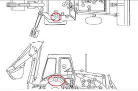 b cat backhoe wd will not work botton on gearshiftd graphic