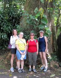 alumni hawaii trip agforestry alumni pam durfey carla willard connie cismowski and heather hansen