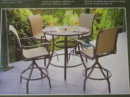 architecture shining high top table and chairs set outdoor furniture home decor lovable great patio stylist