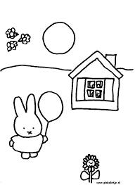 Opa En Oma Pluis Kleurplaat Miffy Coloring Pages Coloringpages1001