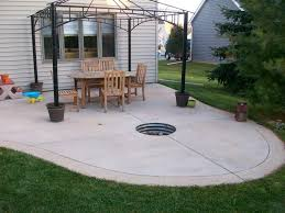 concrete patio with fire pit. Contemporary With Fresh Fire Features St Paul  Landscaping Contractor MN DM55 Intended Concrete Patio With Pit