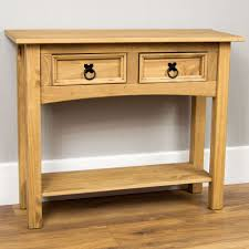 pine console table. Corona Console Tables 1 2 3 Drawer Shelf Solid Pine Wood Hallway Furniture New; Picture Of 6 Table A