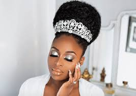 ronke raji did her wedding makeup by herself it was oh so perfect 234star