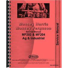 massey ferguson tractor manuals for ebay 1973 Massey Ferguson MF 135 Tractor massey ferguson mf 204 tractor service manual