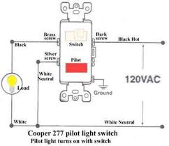 wiring diagram for single pole switch pilot light wiring wiring diagram for three way switches pilot light