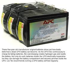 lex tec 6v 12v ups replacement batteries battery packs and dead apc ups batteries