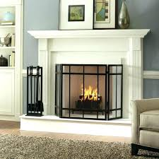 glass fireplace screen glass fireplace screen medium size of fireplaces perfect fit how to measure a