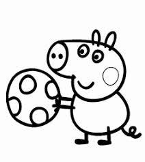 Disegni Da Colorare X Bambini 21 Fantastiche Immagini In Peppa Pig