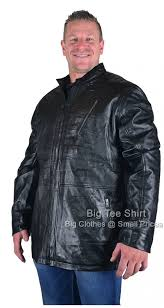 black kam kule leather jacket sizes 2xl 3xl 4xl 5xl 6xl 7xl 8xl